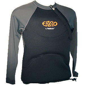 Ergo Long Sleeve Neoprene and Lycra in Slate/Black