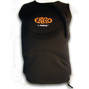 Ergo Black Neoprene Vest by PaddleAir