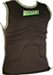 Rib Rocket Black Vest Runs Small